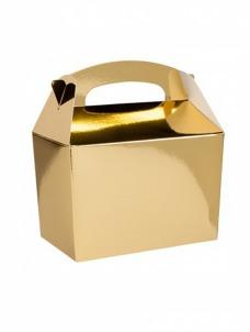 Party box σε χρυσό μεταλικό χρώμα