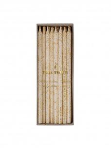 Meri Meri Gold Glitter Κεράκια Γενεθλίων 24τμχ