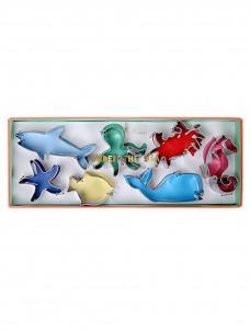 Meri Meri Ζώα της Θάλασσας Cookie Cutters 7τμχ