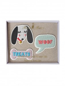 Meri Meri Dogs Καρφίτσες 3τμχ