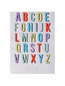 Meri Meri Alphabet Αυτοκόλλητα