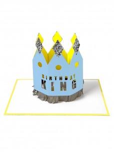 Meri Meri Birthday King Ευχετήρια Κάρτα