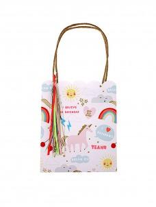 Meri Meri Unicorn Tote bag Δώρου 8τμχ