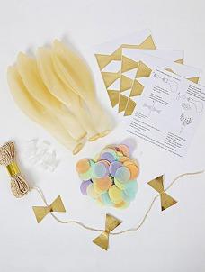 Meri Meri Pastel Balloon Kit (8τεμ)