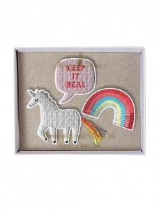Meri Meri Unicorn Καρφίτσες 3τμχ