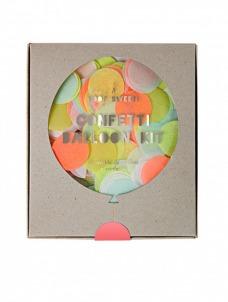 Meri Meri Neon Confetti Balloon Kit (8τεμ)