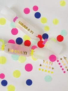 Meri Meri Toot Sweet Confetti Crackers