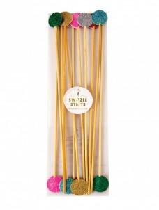 Meri Meri Πολύχρωμα Sticks Ανάδευσης Ποτών