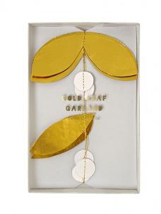 Meri Meri Γιρλάντα με χρυσά φύλλα