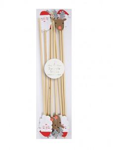 Meri Meri Santa & Reindeer Sticks