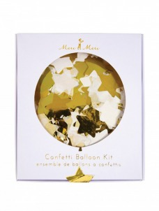 Meri Meri Αστέρια χρυσά Balloon Kit