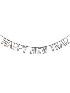 Meri Meri Γιρλάντα HAPPY NEW YEAR