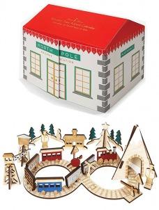 Meri Meri Ημερολόγιο Χριστουγέννων Σιδηροδρομικός Σταθμός EOL