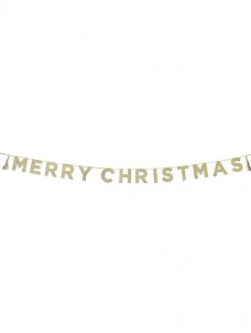 Talking – Γιρλάντα Glitter Merry Christmas
