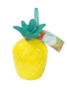 Talking Pineapple Ποτήρι με καλαμάκι