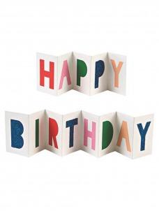 Meri Meri Ευχετήρια Κάρτα Happy Birthday