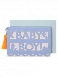 Meri Meri Ευχετήρια Κάρτα Baby Boy