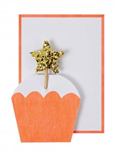 Meri Meri Ευχετήρια Κάρτα Capcake Αστέρι