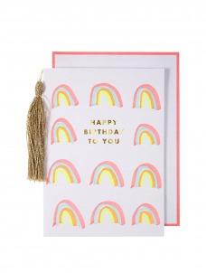 Meri Meri Rainbows Ευχετήρια Κάρτα