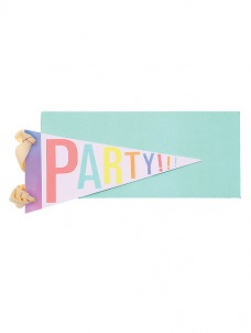 Meri Meri Σημαιάκι Party Ευχετήρια Κάρτα