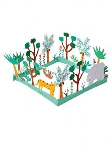 Meri Meri Δάσος Ευχετήρια Κάρτα