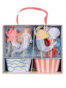 Meri Meri Cupcake Kit Let's Be Mermaids