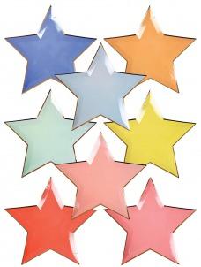 Meri Meri Πιάτα Αστέρια σε διάφορα χρώματα