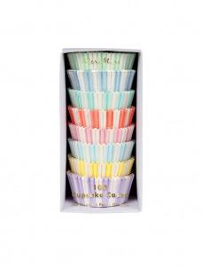 Meri Meri Cupcake Cases Παστέλ Χρώματα