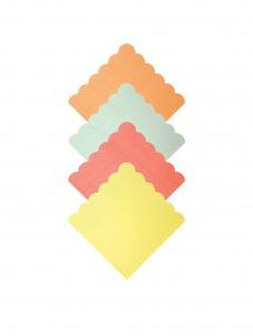 Meri Meri Χαρτοπετσέτες Μικρές νέον χρώματα