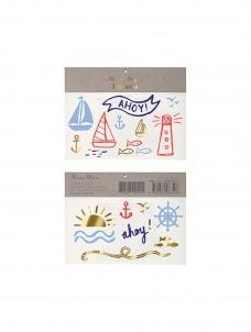 Meri Meri Nautical Tattoos