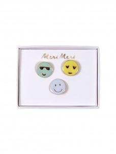 Meri Meri Καρφίτσες Emoji