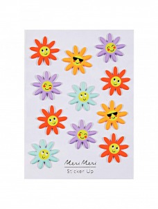 Meri Meri Happy Flower Φουσκωτά Αυτοκόλλητα