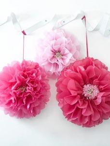 Talking Διακοσμητικά Λουλούδια Pom Pom