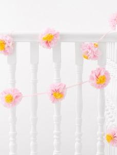 Talking Γιρλάντα με Λουλούδια