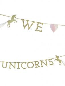 Talking Γιρλάντα We ♥ Unicorns