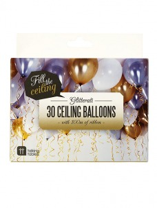 Talking Μπαλόνια με μεταλλιζέ χρώμα