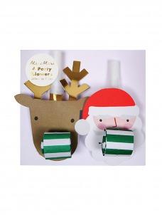 Meri Meri Καραμούζες Santa & Reindeer