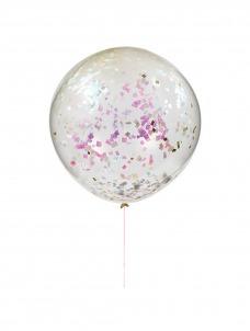 Meri Meri Γιγαντιαίο Μπαλόνι Ιριδίζοντα Confetti