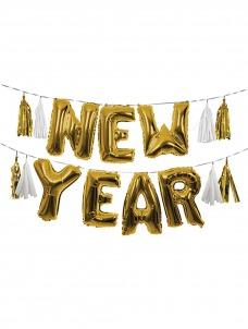 Meri Meri Μπαλόνια Foil Γιρλάντα New Year