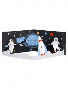 Meri Meri Ευχετήρια Κάρτα Διάστημα