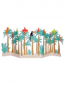 Meri Meri Ευχετήρια Κάρτα Tropical Bird