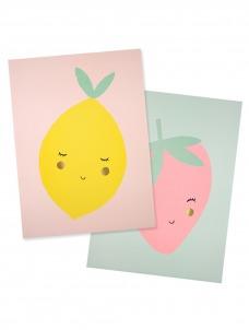 Meri Meri Αφίσα Φρούτα