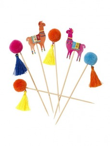 Talking Boho Pom Pom Sticks