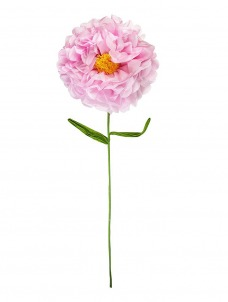 Talking Μεγάλο Διακοσμητικό Λουλούδι Κίτρινο Τριαντάφυλλο