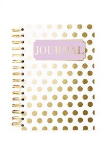 Gold Dot - Spiral Journal