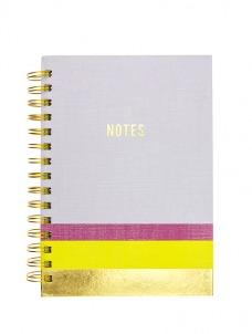 Σημειωματάρειο Lavender & Neon