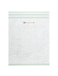 Large notepad Arrow