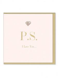 Ευχετήρια Κάρτα – P.S Ι love you