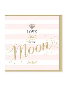 Ευχετήρια Κάρτα – Love You To The Moon And Back