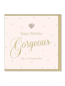 Ευχετήρια Κάρτα - Gorgeous Birthday